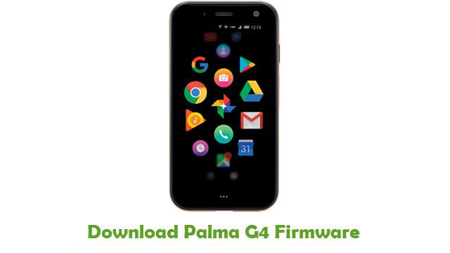 Palma G4 Stock ROM