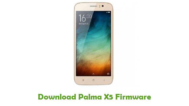 Palma X5 Stock ROM