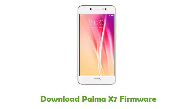 Palma X7 Stock ROM