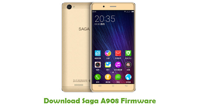 Download Saga A908 Firmware