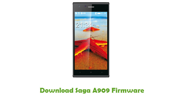 Download Saga A909 Firmware