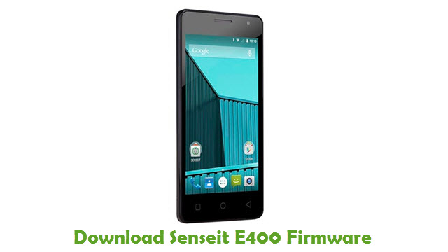 Download Senseit E400 Firmware
