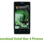 Sintel Star 8 Firmware