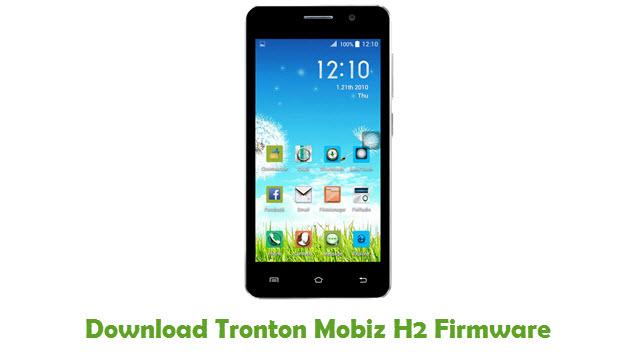 Download Tronton Mobiz H2 Firmware Flash File - FirmwaresPk