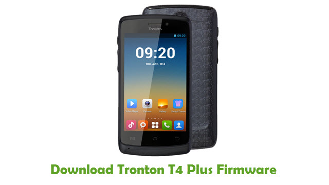 Tronton T4 Plus Stock ROM