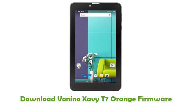 Vonino Xavy T7 Orange Stock ROM