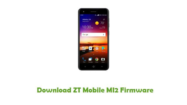 Download ZT Mobile MI2 Firmware