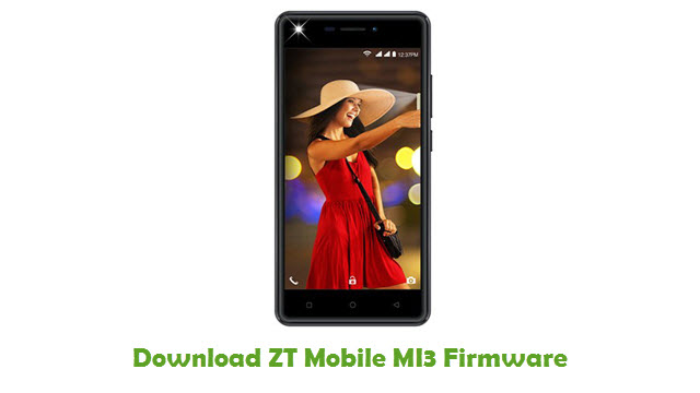 Download ZT Mobile MI3 Firmware
