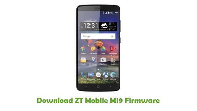 Download ZT Mobile MI9 Firmware