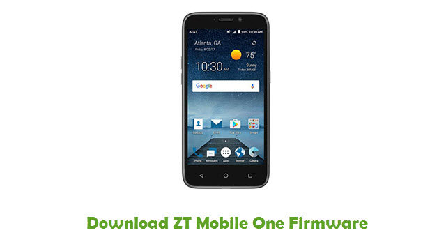 Download ZT Mobile One Firmware