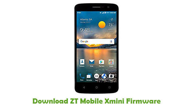 Download ZT Mobile Xmini Firmware