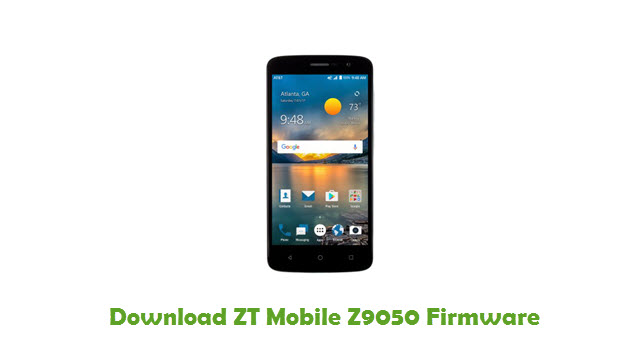 Download ZT Mobile Z9050 Firmware