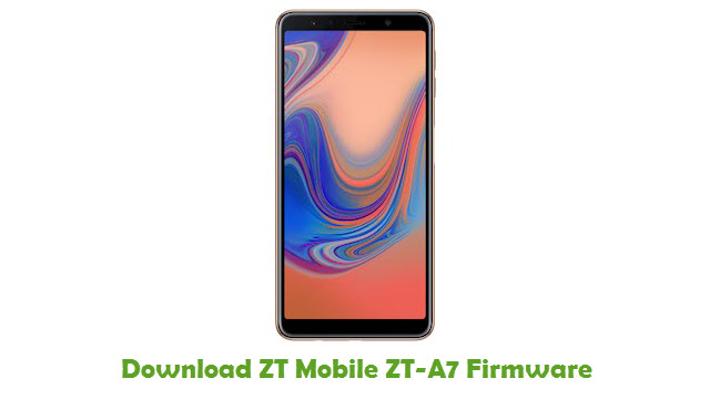 Download ZT Mobile ZT-A7 Firmware