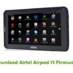 Airtel Airpad 7S Firmware