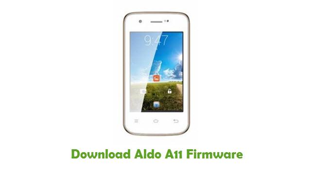 Aldo A11 Stock ROM