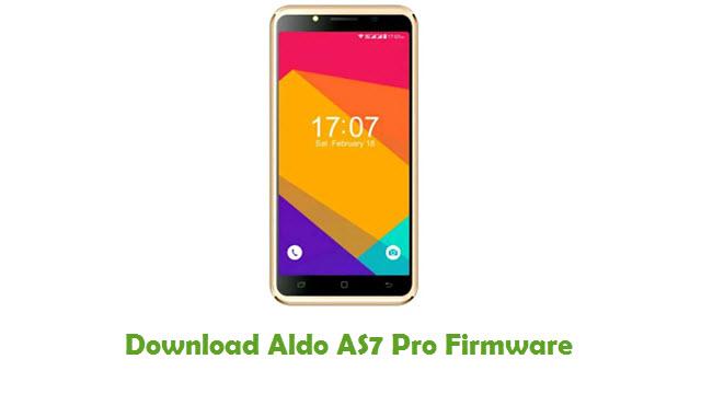 Aldo AS7 Pro Stock ROM