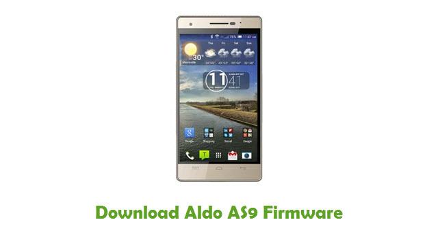 Aldo AS9 Stock ROM