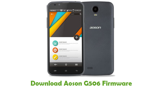 Download Aoson G506 Stock ROM