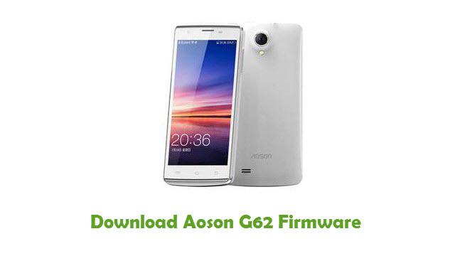 Aoson G62 Stock ROM