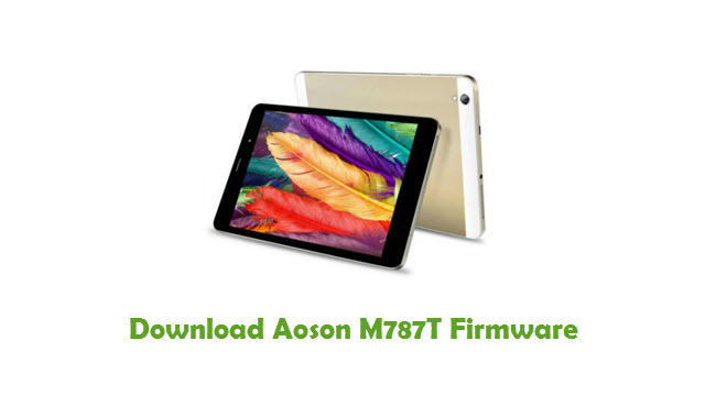 Download Aoson M787T Stock ROM