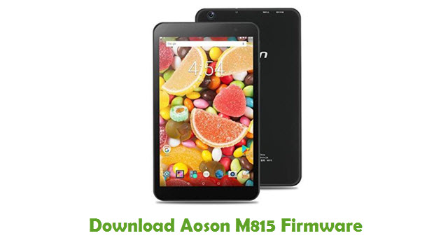 Download Aoson M815 Stock ROM