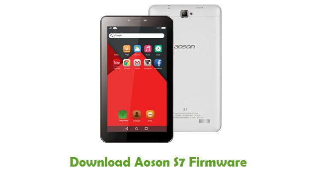 Aoson S7 Stock ROM