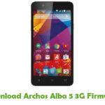 Archos Alba 5 3G Firmware