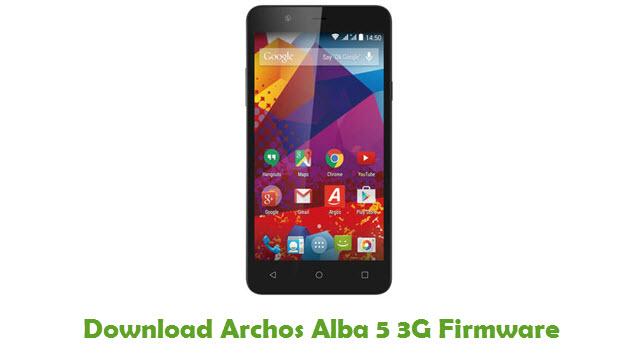 Download Archos Alba 5 3G Firmware