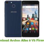 Archos Alba 8 V3 Firmware