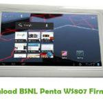 BSNL Penta WS807 Firmware