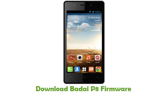 Download Badai P8 Stock ROM