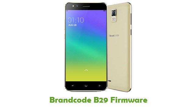 Brandcode B29 Stock ROM