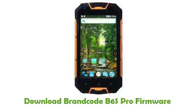 Brandcode B6S Pro Stock ROM