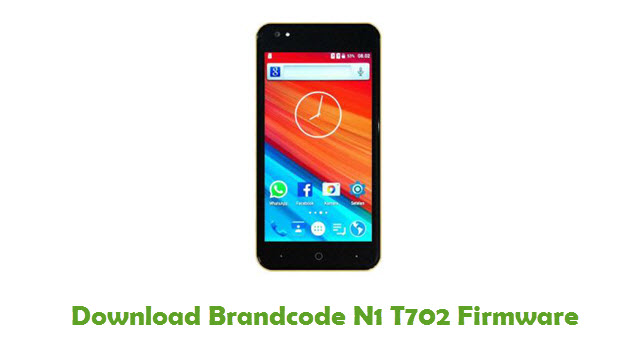 Download Brandcode N1 T702 Stock ROM