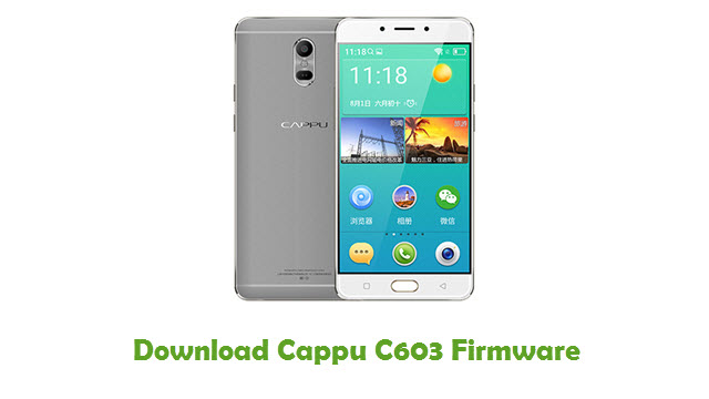 Download Cappu C603 Stock ROM