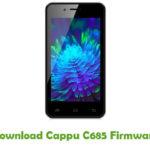 Cappu C685 Firmware
