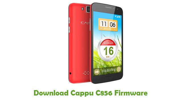 Download Cappu C856 Firmware