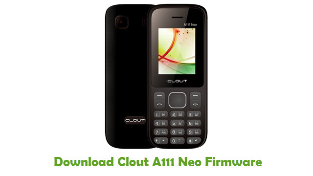 Clout A111 Neo Stock ROM