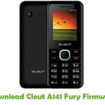 Clout A141 Fury Firmware