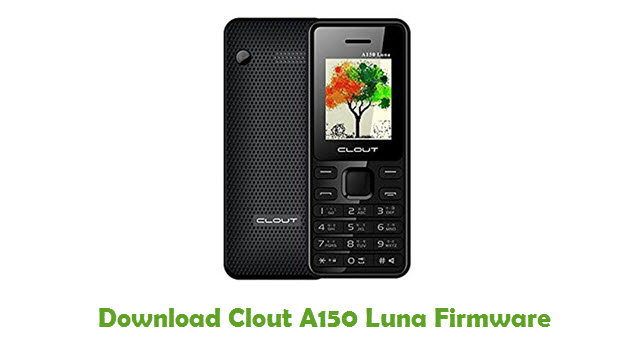 Download Clout A150 Luna Firmware