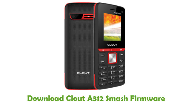 Clout A312 Smash Stock ROM