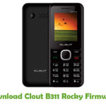 Clout B311 Rocky Firmware