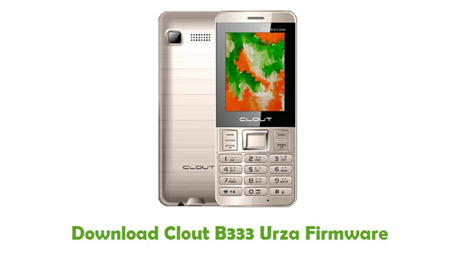 Download Clout B333 Urza Firmware