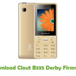 Clout B335 Derby Firmware