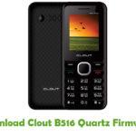 Clout B516 Quartz Firmware