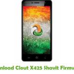 Clout X425 Shavit Firmware