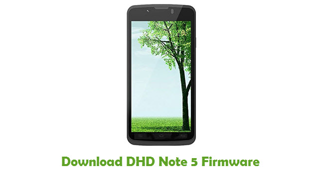 Download DHD Note 5 Firmware