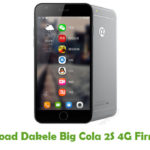 Dakele Big Cola 2S 4G Firmware