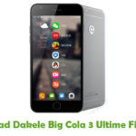 Dakele Big Cola 3 Ultime Firmware