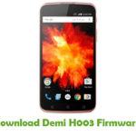Demi H003 Firmware